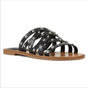 NWT Nine West Candy Flat Slide Sandal